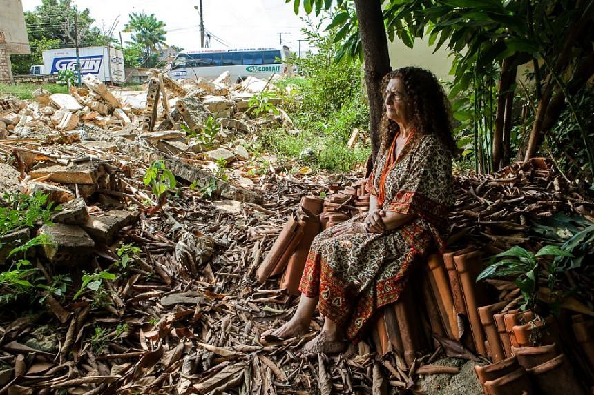 Antonia Melo, 66, is the face of the battle against the Belo Monte dam in Brazil.