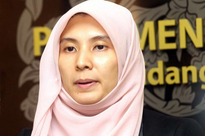 Malaysian opposition MP Nurul Izzah (above) sparked criticism over her meeting with the daughter of the late self-proclaimed Sulu sultan.