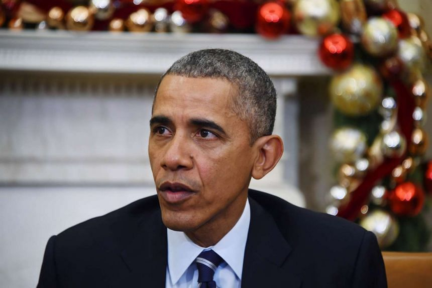 Obama speaks on US gun violence at the White House in Washington on Dec 3, 2015.