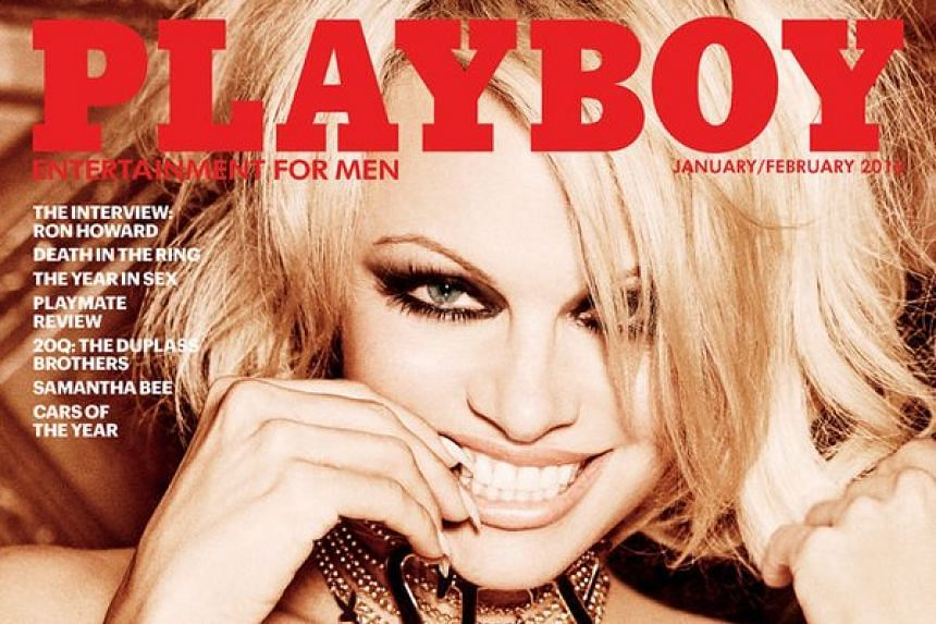 Playboy released teasers of the 48-year-old actress.