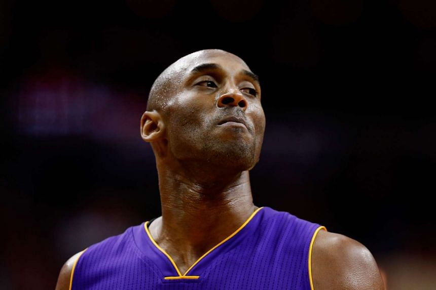 Kobe Bryant, 37, won gold medals with the US Olympic team in 2008 and 2012.
