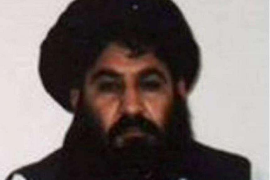 Afghan Taleban leader Mullah Akhtar Mansour in mid-2014.