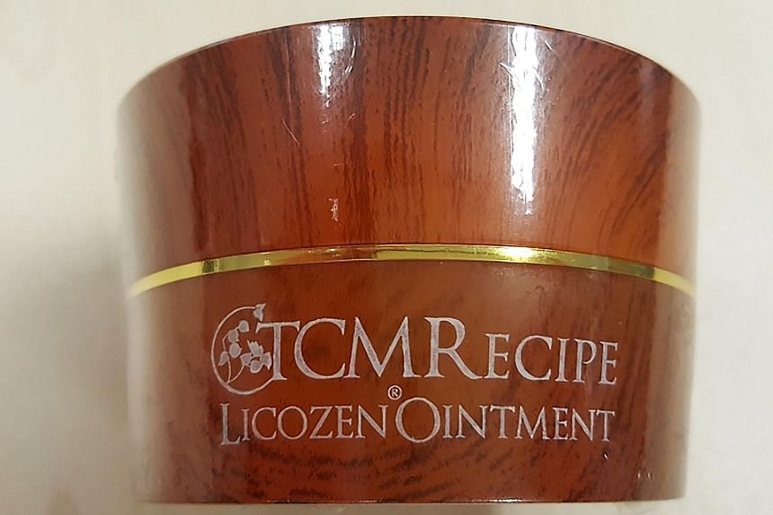 The HSA has called for a stop to using and selling TCM Recipe Licozen Ointment, which has been advertised on online platforms. According to the product label, the ointment is imported from Malaysia.