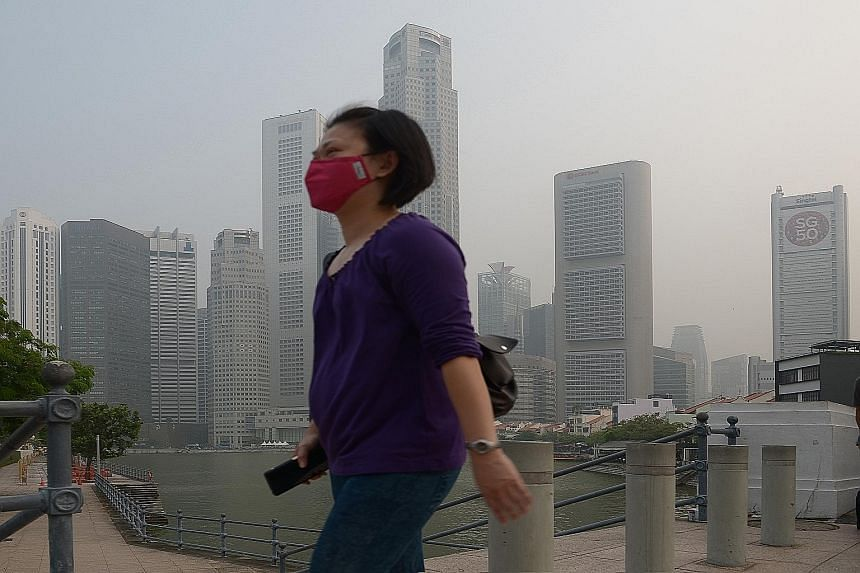 Singapore and regional countries were enveloped by thick haze recently due to forest fires in Indonesia. The Malaysian Bar Council and the Law Society of Singapore plan to study the legal aspects of the issue.