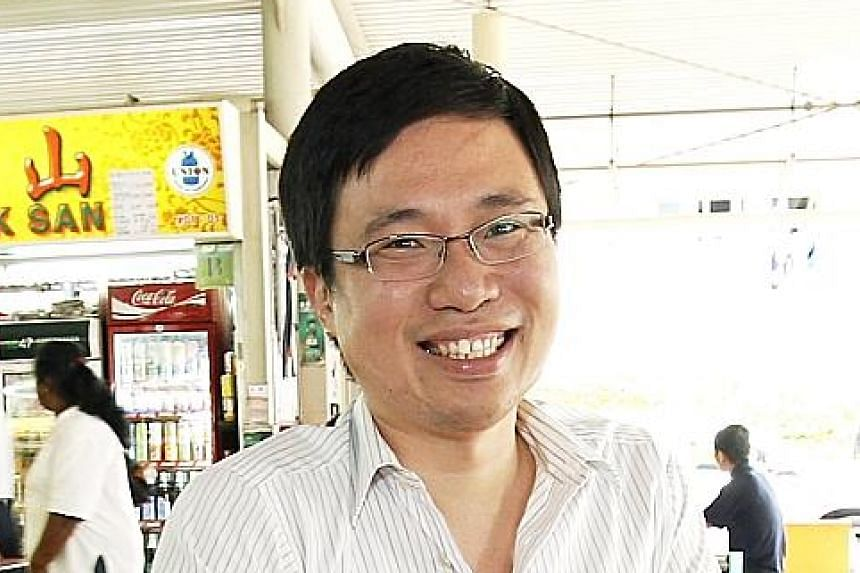 MR DENNIS GOH, founder of food review portal HungryGoWhere and a mentor in the DBS HotSpot programme