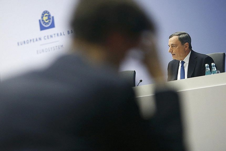 Some analysts said European Central Bank president Mario Draghi may have been unable to persuade some members of the bank's governing council that more stimulus was necessary.