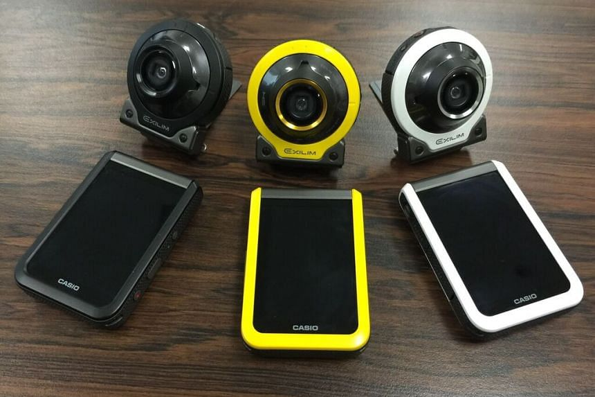 The Casio Exilim EX-FR100 comes in black, yellow and white.
