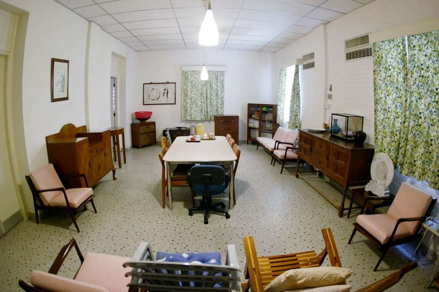 The basement room of Mr Lee's house, where the People's Action Party was conceived by a small group of unionists, teachers, lawyers and journalists.