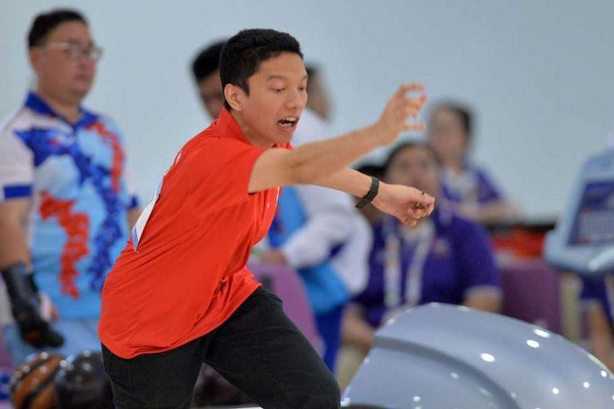 Mohamad Rausyan, a Para Games debutant, won the TPB4 title.