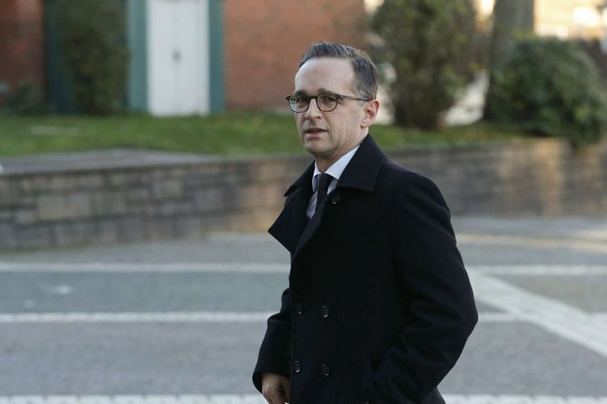 HEIKO MAAS, Germany's Justice Minister.