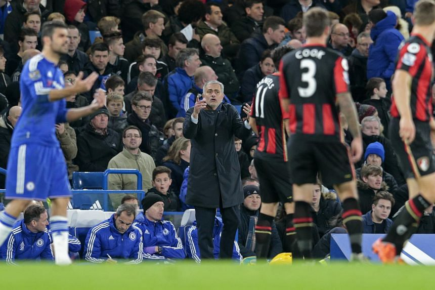 Jose Mourinho found himself back in the spotlight after Bournemouth condemned the champions to their eighth defeat of the league campaign.