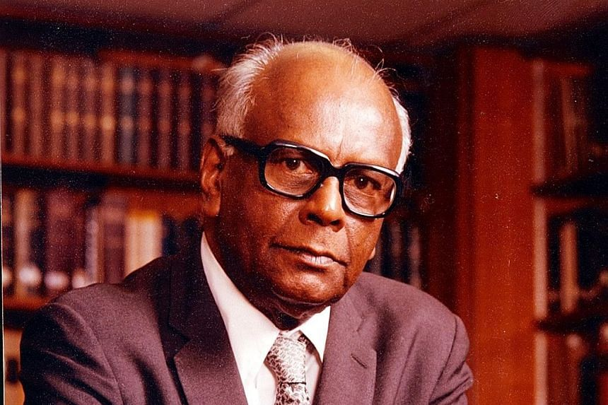 Mr Rajah was a High Court judge from 1976 until 1990.