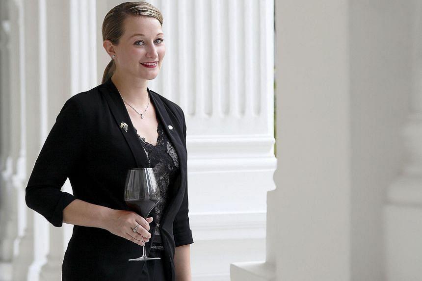 Ms Stephanie Rigourd likes to pair chicken rice with Chardonnay.
