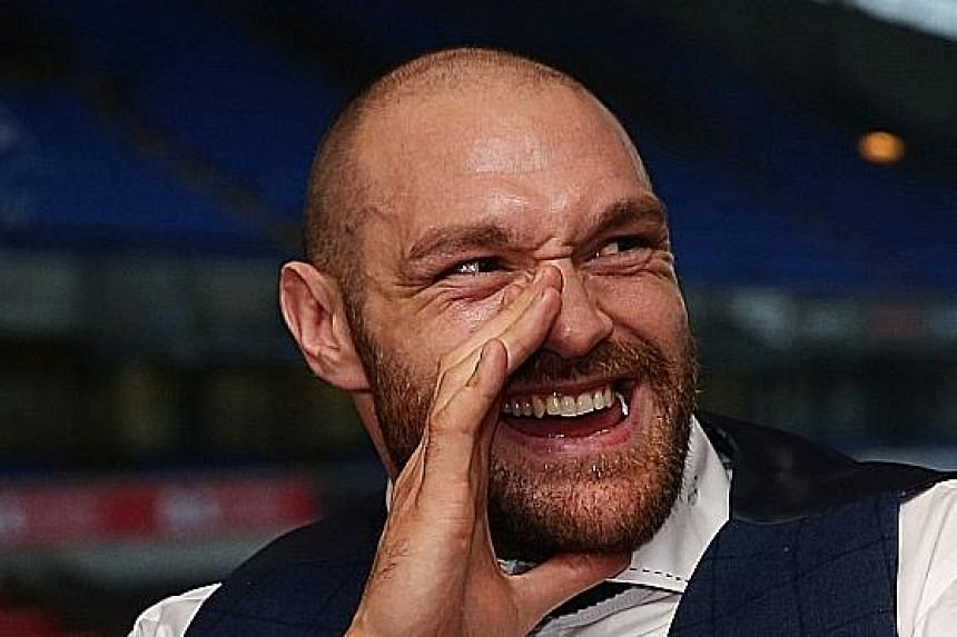 """Tyson Fury believes that """"a woman's best place is in the kitchen and on her back""""."""