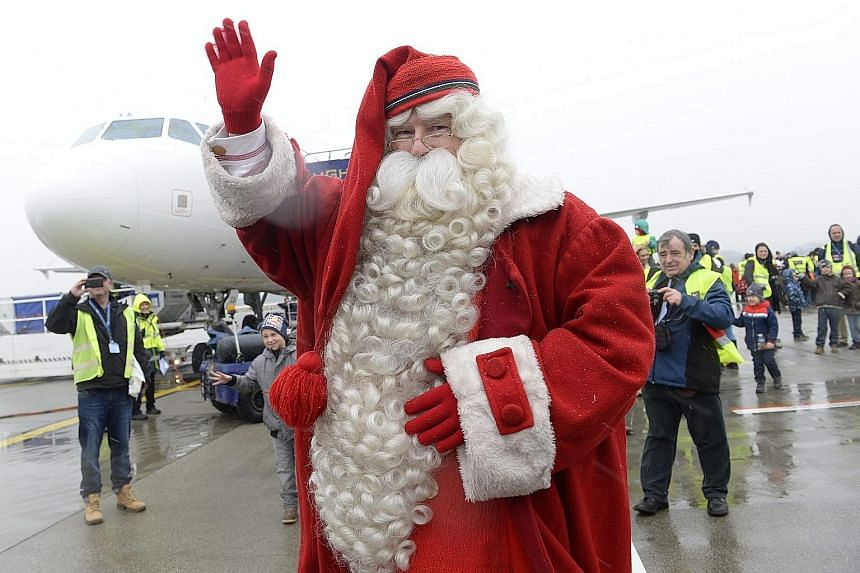 Santa is the top Yuletide ambassador around the world - like all the best brands, he never fails to deliver.
