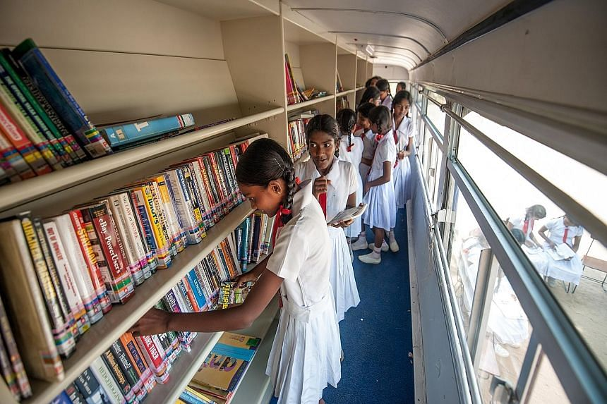 The youth resource centre at the rebuilt Jaffna Public Library in Sri Lanka is one way the Singapore International Foundation has built relationships between Singaporeans and foreign communities. Steps are being taken to develop closer cooperation be