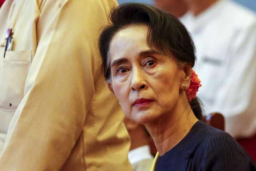 Than Shwe kept Suu Kyi (above) under house arrest for most of his 19 years in power.