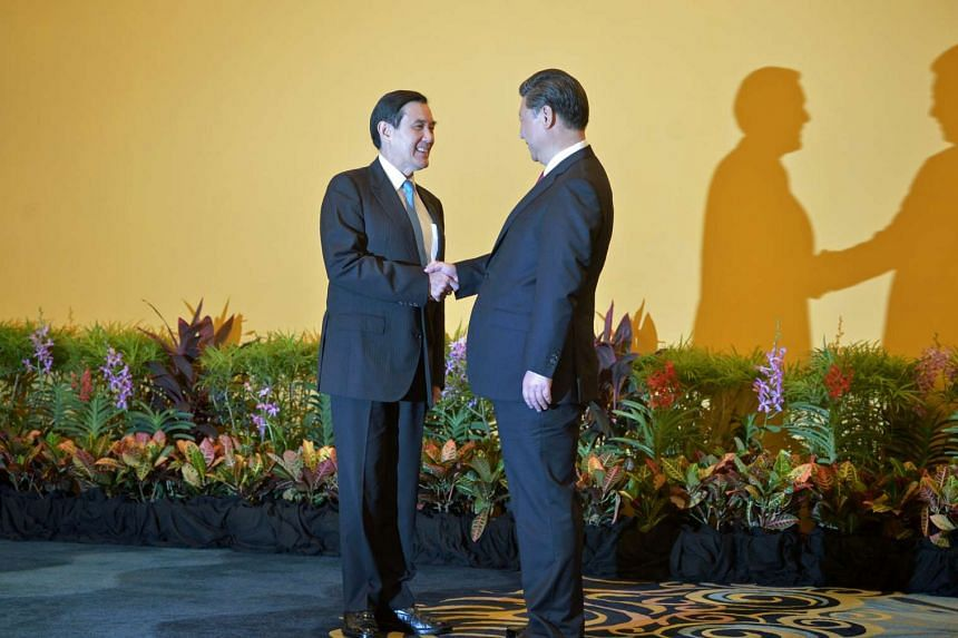 Singapore hosted the historic meeting between Taiwanese President Ma Ying-jeou (left) and Chinese President Xi Jinping last month.