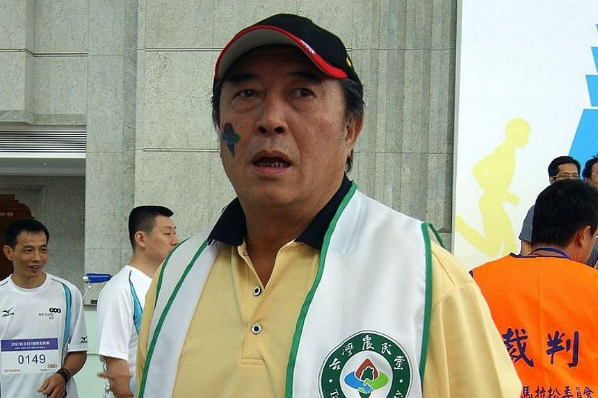 Ko Chun-hsiung in 2007, after he became a politician and joined the Taiwan Farmers' Party.