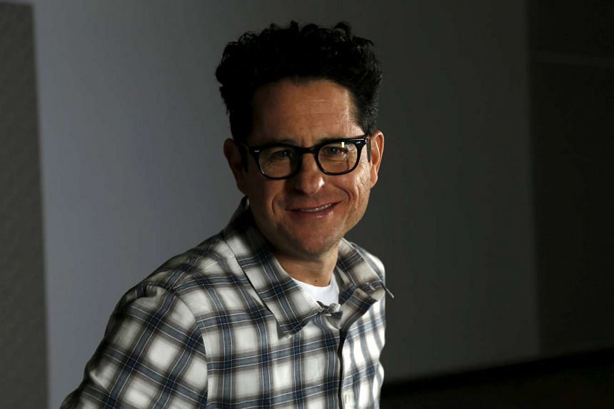 "Director J.J. Abrams poses for a portrait while promoting his upcoming movie ""Star Wars: The Force Awakens"" in Los Angeles, California on Dec 6, 2015."