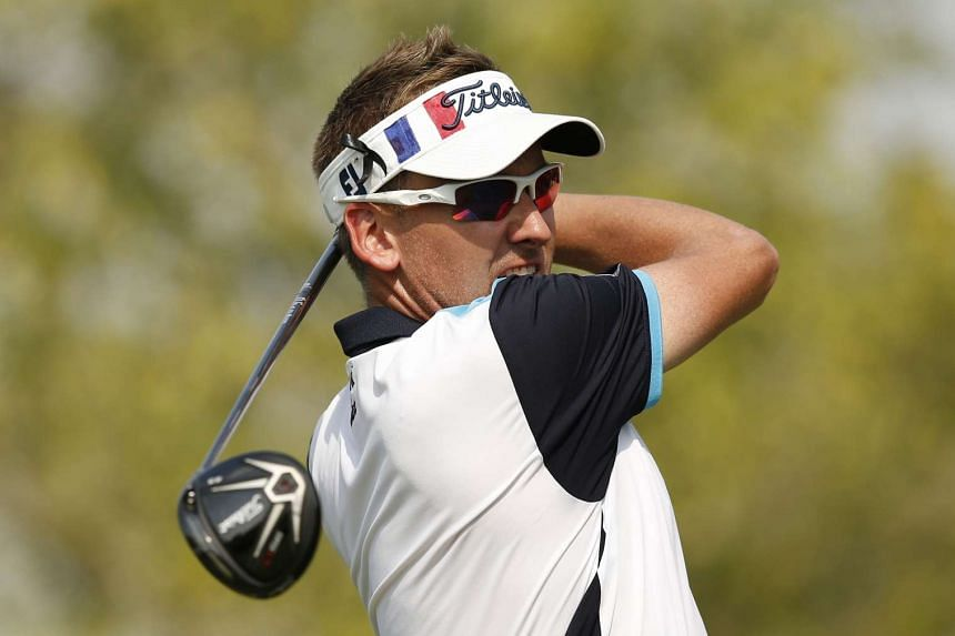 Ian Poulter at the DP World Tour Championship on Nov 11, 2015.
