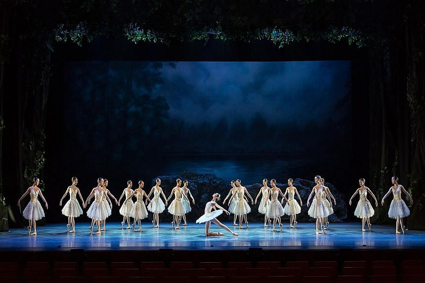 The women of the corps de ballet turned in fine work and outshone their male counterparts.