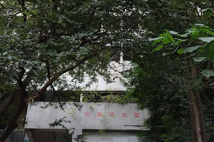 Many vacant schools such as the former St Luke's College in Wan Chai (above) have not been returned to the government.