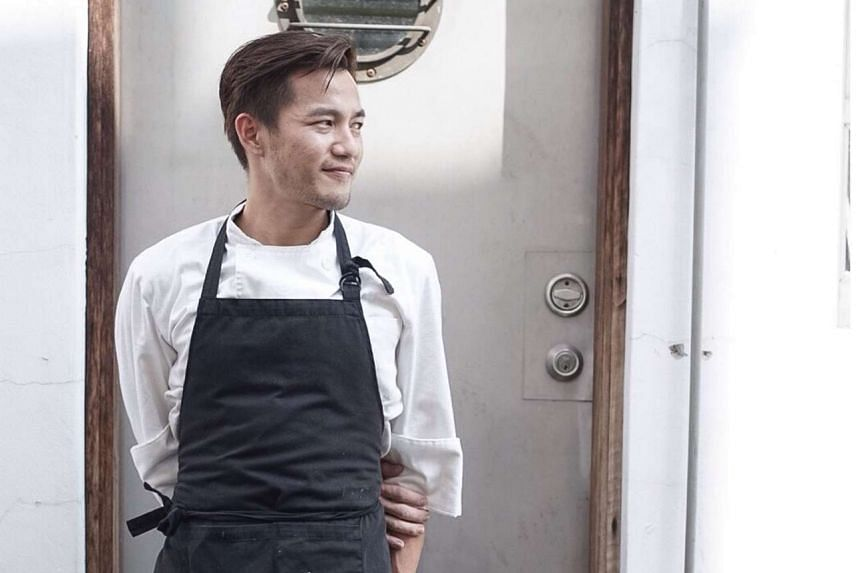Head chef Sebastian Tan, 26, of Strangers' Reunion has been diagnosed with Stage 4 cancer.