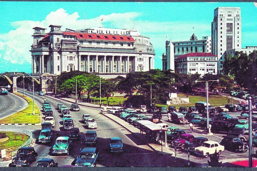 The former Fullerton Building, 1950s.