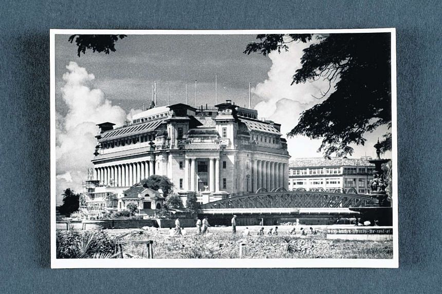The former Fullerton Building, mid 20th Century.