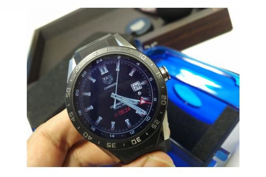 A TAG Heuer Connected  watch
