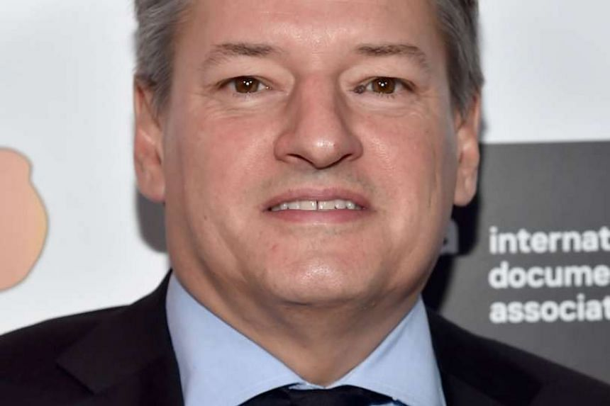 Mr Ted Sarandos, head of content acquisition for Netflix attends the 2015 IDA Documentary Awards at Paramount Studios on Dec 5, 2015 in Hollywood, California.