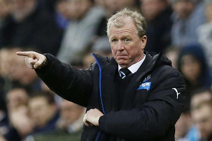 Newcastle United's Georgino Wijnaldum has urged the club to keep faith with manager Steve McClaren (above).