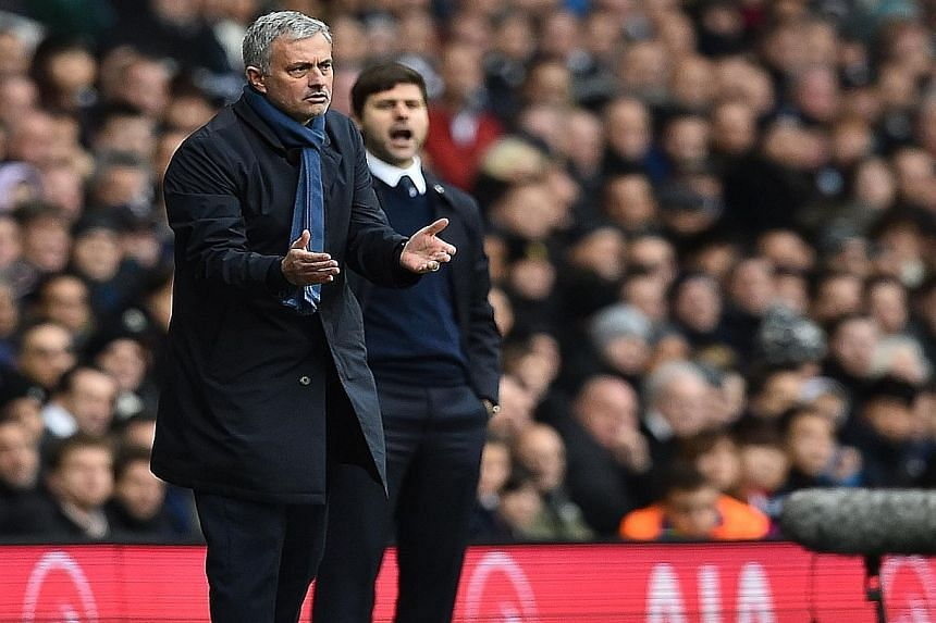 Jose Mourinho, urging his team on against Spurs in the Nov 29 match that ended 0-0, called the players in for training on Sunday after Chelsea lost to Bournemouth 0-1 the day before.