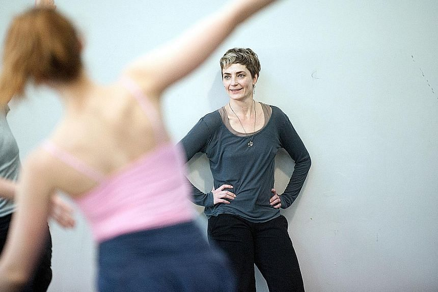 Dutch choreographer Anouk van Dijk was moved to tears the first time she saw a real dancer.