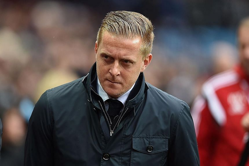 Garry Monk is clinging to his Swansea job by a thread, with the team failing to find the net in seven of their league matches.