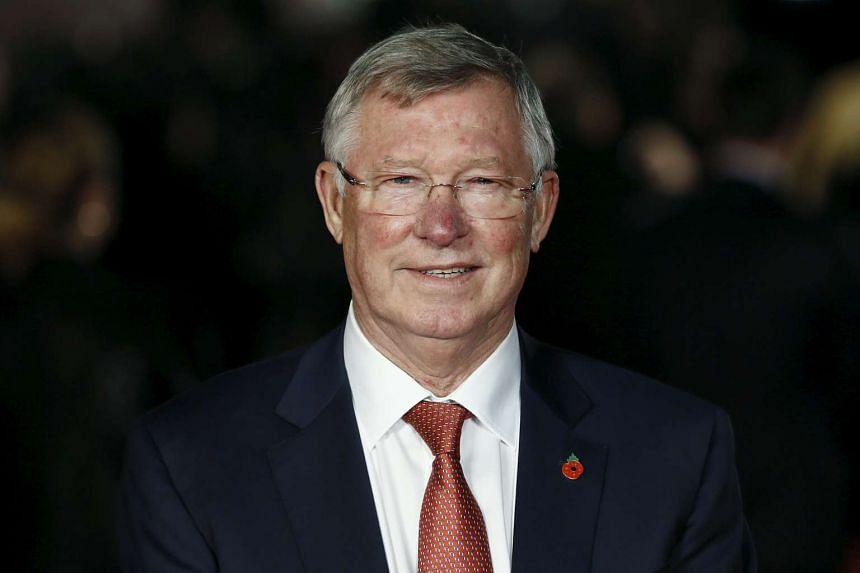 Ex-Man U boss Alex Ferguson.
