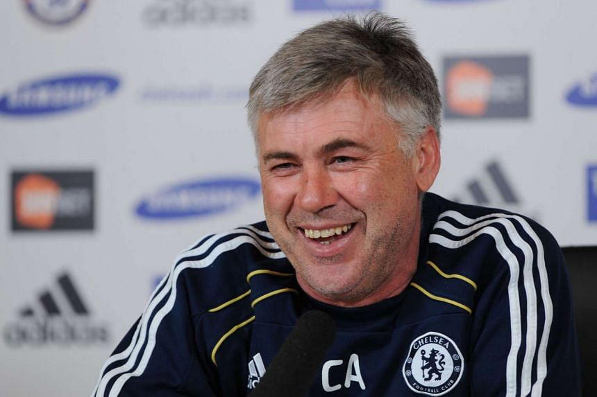 Former Real Madrid and Chelsea boss Carlo Ancelotti said he would be interested in taking over at Manchester United if the job becomes available.