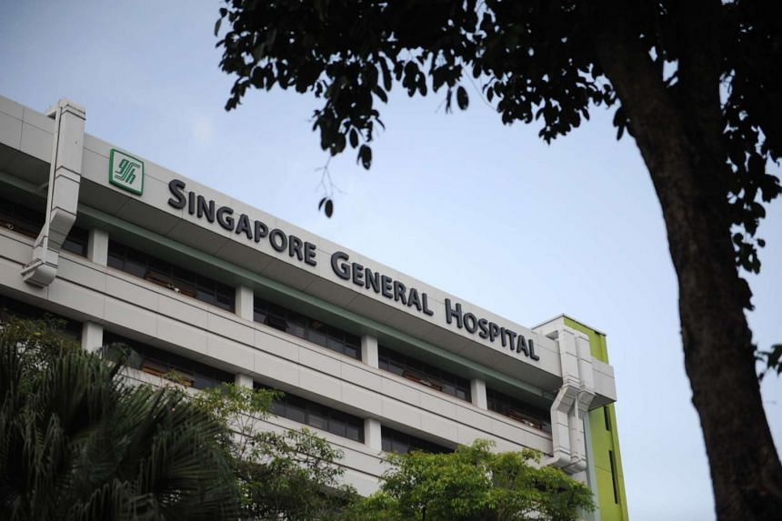 The Singapore General Hospital in Outram.