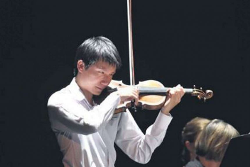 Violinist Loh Jun Hong, 25, won the top prize of $8,440 in the Gisborne International Music Competition in New Zealand.
