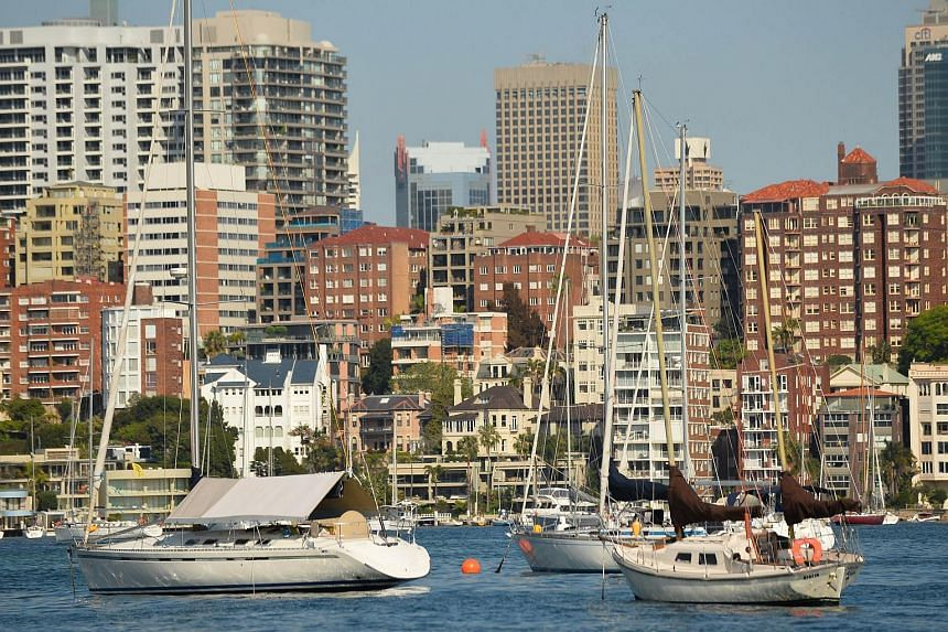 Residential property along the harbourfront in Sydney on Sept 17, 2015.