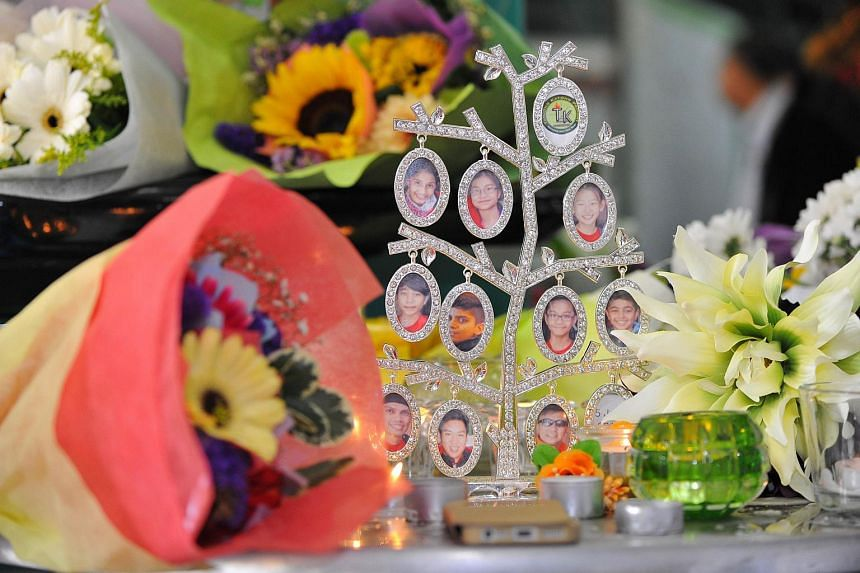Tributes and flowers from hundreds of visitors at a tribute site set up in Tanjong Katong Primary School on Jun 9, 2015.