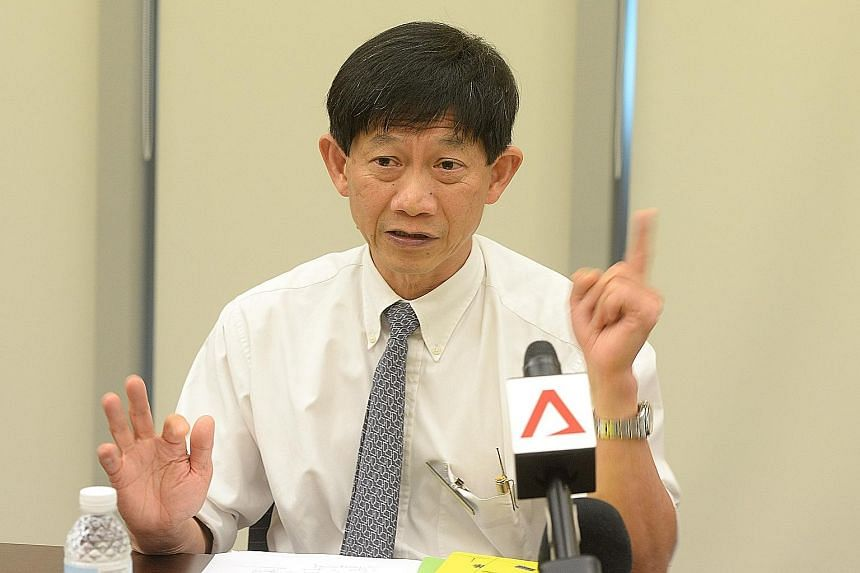 """SGH chief executive Ang Chong Lye apologised to the patients and families affected by the outbreak, and said """"SGH has reflected on our response and approach, and acknowledges that we could have done better and escalated the matter earlier to SingHeal"""