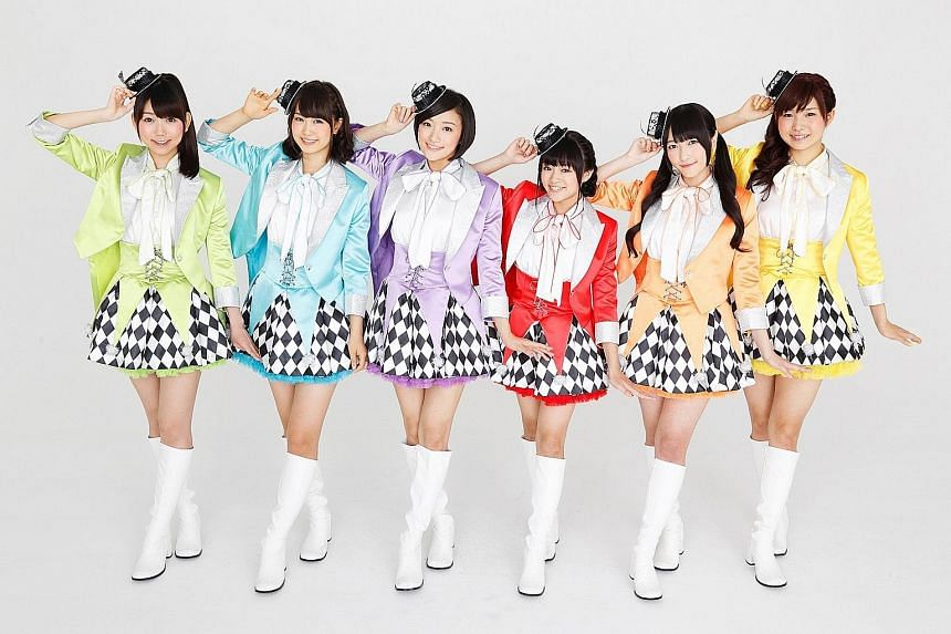 Girl group iRis not only sing, but also provide voices for the arcade game and anime franchise PriPara.