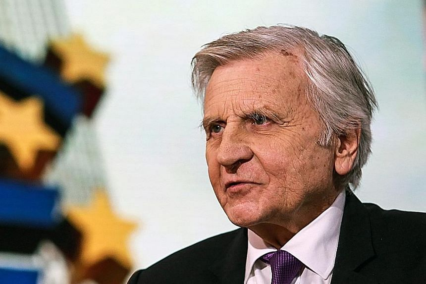 Left, from top: Former Fed chairman Ben Bernanke, former British PM Gordon Brown and former European Central Bank president Jean-Claude Trichet will be leading Pimco's new global advisory board. The firm says in a statement that the formation of the