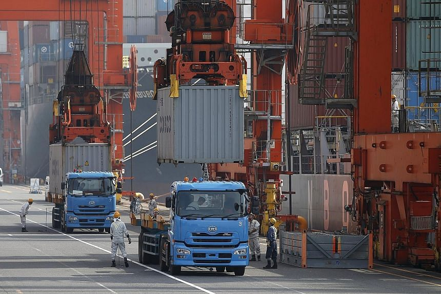 Japan has lost its dominance of Asia's high-technology exports to China, whose share of Asia exports of high-tech goods rose to 43.7 per cent last year, from 9.4 per cent in 2000, said the Asian Development Bank. Japan's share slid to 7.7 per cent la