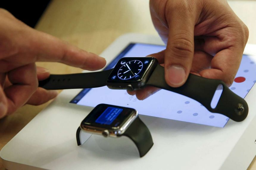 Holiday sales of the Apple Watch (above) will show how much promise it holds for the company.