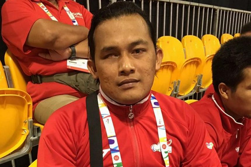 Indonesia beat Laos to bag the goalball bronze. Arif Setiawan (pictured) scored 12 goals in the win.