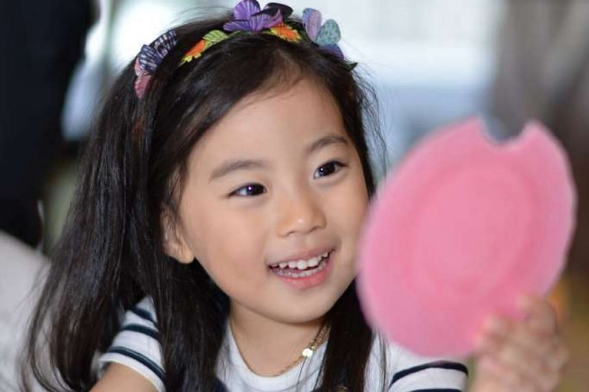 Pre-schooler Kim Ye Bin (above), four, became an Internet sensation because of a viral video in which her mother teaches her to say no to strangers.