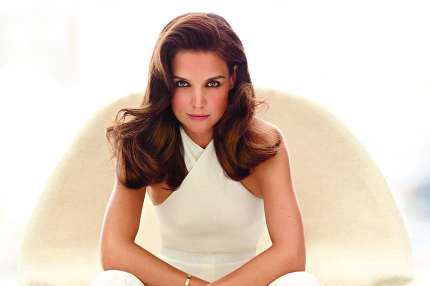 Actress Katie Holmes is the global brand ambassador for haircare brand Alterna.